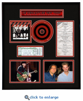 U2 Ticket Frame