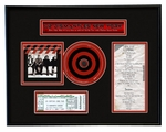 U2 Concert Ticket Frame Jr