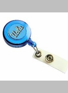 UCLA Retractable Ticket Badge Holder