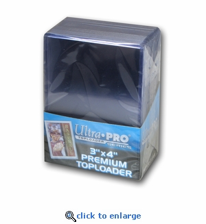 Ultra Pro3X4 Topload Card Holders (25)