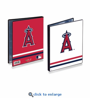Ultrapro Baseball Card 4 Pocket Portfolio- Los Angeles Angels of Anaheim