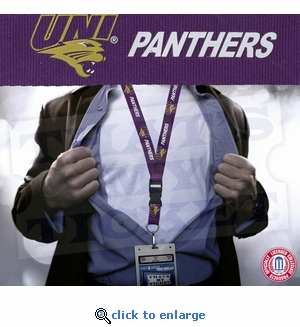 Northern Iowa Panthers NCAA Lanyard Key Chain and Ticket Holder