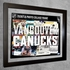 Vancouver Canucks Ticket & Photo Collage Frame