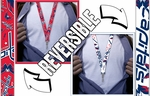Washington Capitals Reversible Lanyard Key Chain with Ticket Holder