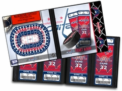 Washington Capitals Ticket Album