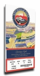 Washington Nationals 2008 Opening Night / First Game at Nationals Park Canvas Mega Ticket