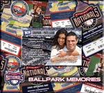 Washington Nationals 8 x 8 Scrapbook - Ticket & Photo Album