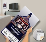 Washington Nationals 2005 Opening Day / Inaugural Game Mega Ticket
