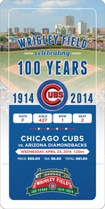 Wrigley Field 100th Anniversary Game - Chicago Cubs