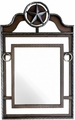 Montana West Lonestar Western Metal Framed Mirror - 10% OFF