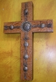 Rustic Dreams Leather Cross on Sale ~  10% Off!