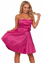 Baby Doll Cocktail Special Occasion Sweetheart Classic Stylish Party Dress