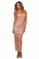 Cocktail Prom Bridesmaid Homecoming Formal Sequin Maxi Long Gown Evening Dress