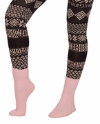 Fuzzy Warm Winter Short Fun Holiday Gift Idea Stretchy Loose Knit Socks