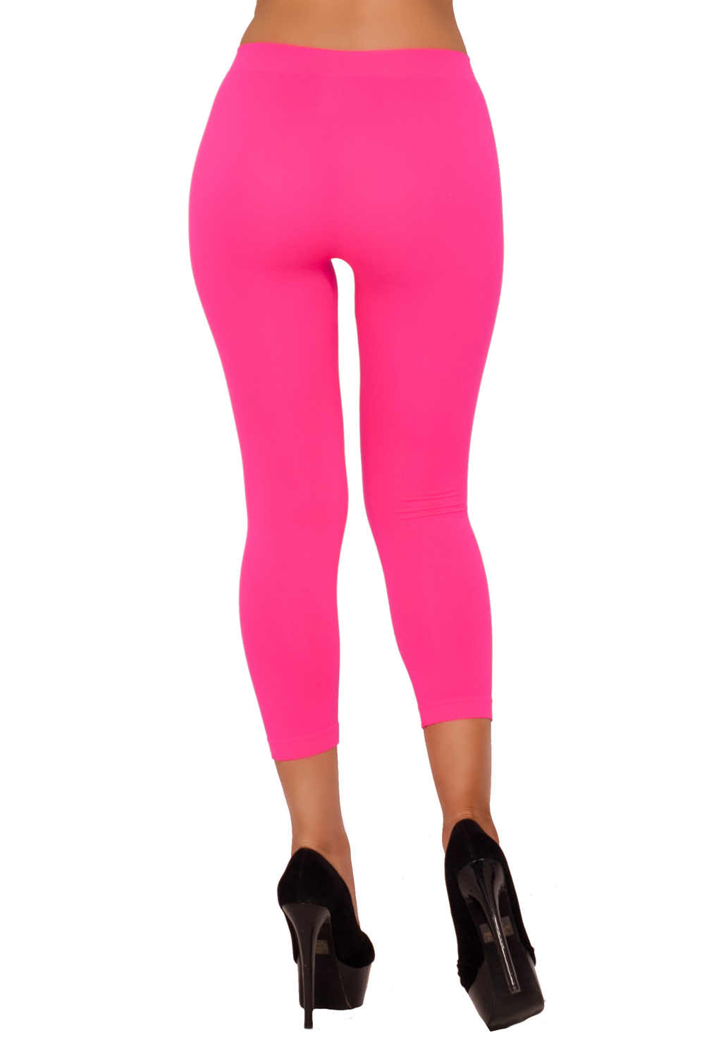 Gym LeggingS Tights Low-rise Capri Yoga Workout Active ...