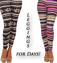 Leggings For Days!