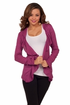 Long Sleeve Ribbed Cozy Winter Warm Trendy Casual Classic Cardigan Jacket