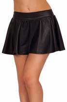 Metallic Mini Party Tight Fun Pencil Sexy Fitted Cocktail Formal Chic Skirt