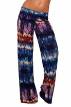 Palazzo Bell Bottom Printed Long Wide leg Trendy Guacho Style Elephant Pants