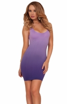 Seamless Hot Sleeveless Mini Fitted Sexy Round Scoop Line Bodycon Party Dress