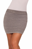 Shimmer Mini Bandage Party Cocktail Sexy Fitted Bodycon Tight Trendy Skirt