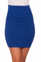 Simple Elegant Micro Mini Bodycon Party Sexy Clubwear High Waist Pencil Skirt