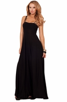 Spaghetti Strap Sweetheart Soft Cups Long Evening Elegant Formal Sexy Dress Gown