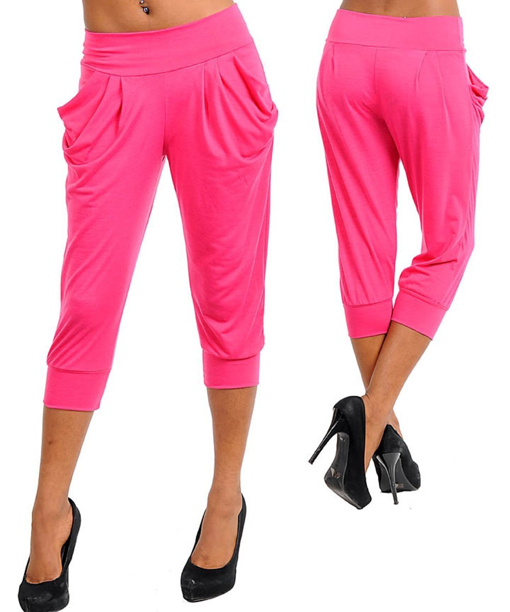 Women's Urban Style Casual Evening All Occasion Cropped Pants