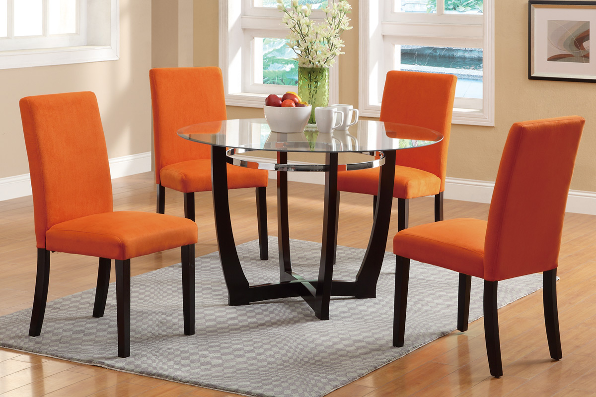 Orange Dining Room Chairs Cool Hd9a12