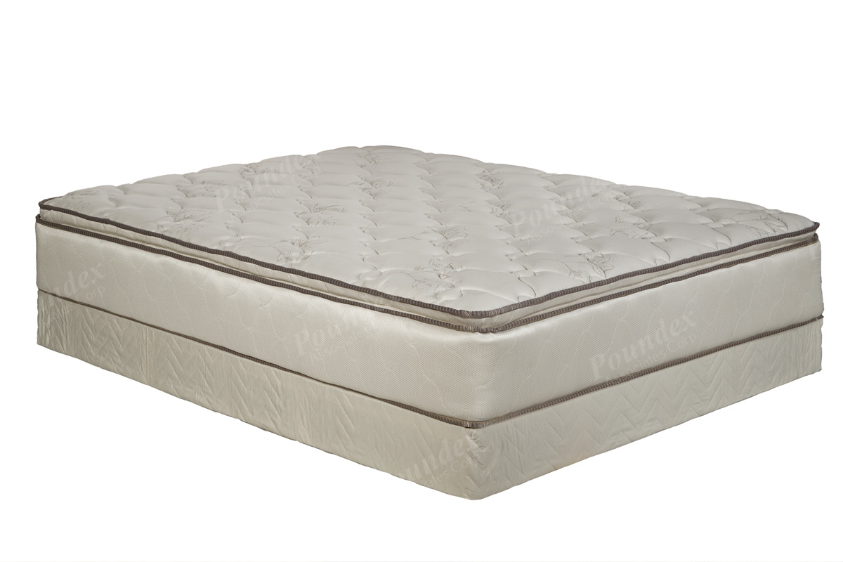 Warehouse cheap Crown Series Size Pillow Top Mattress