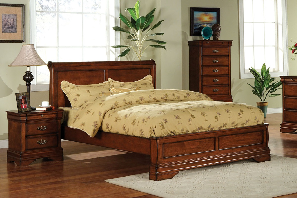 venice collections eastern king low profile bed frame - Low Profile King Bed Frame