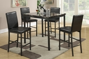 5 PCs Counter Height Dinette Set