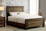 Light Wood Finish Queen Bed Frames