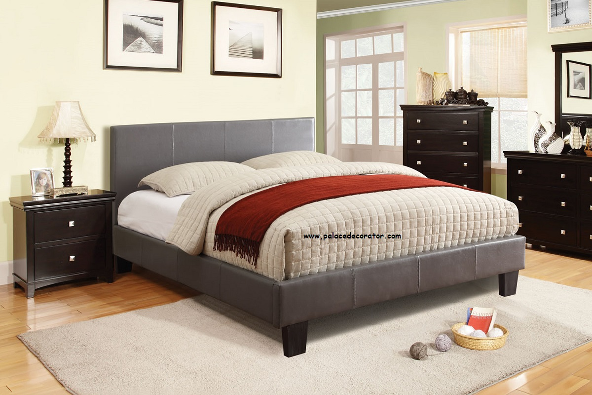 queen size platform bed frame - Bed Frames Queen