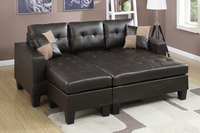 Reversible Mini Sectional Sofa