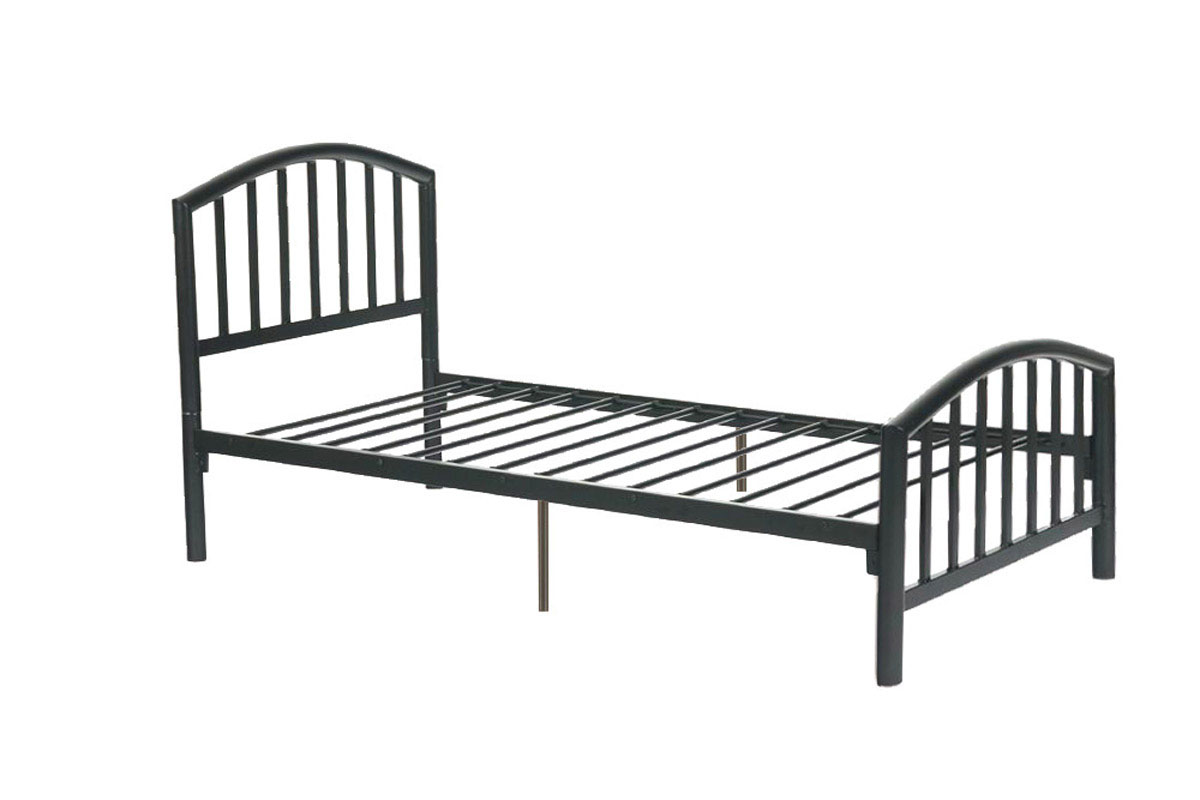 twin size bed frame f9018t twin size bed frame by poundex