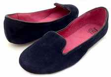 Arabella Navy Suede Womens Fall 2013