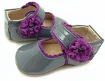 Baby Bluebell Gray Patent Fall 2013