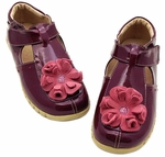 Blossom Burgundy Patent Youth Fall