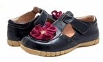 Blossom Navy Patent Youth
