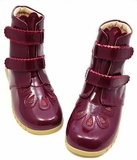 Floret Burgundy Patent Youth Fall 2013
