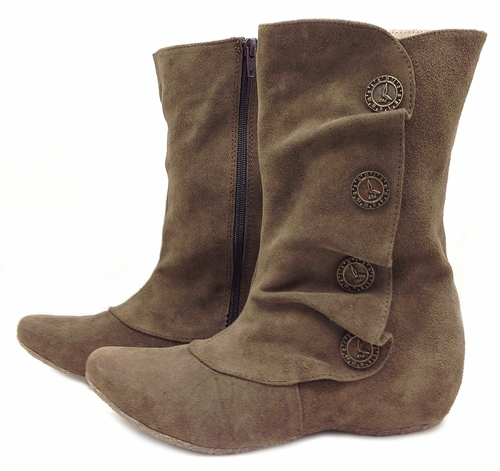 Marcha Boot Taupe Suede Fall 2013