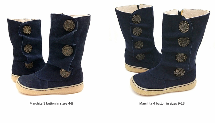 Marchita Boot Navy Suede Fall 2013