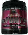 Absolute Pump 288g Preworkout Enhancer