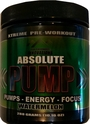 Absolute Pump Pre-Workout 25 Servings