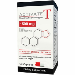 Activate T 60ct Natural Testosterone Support Supplement