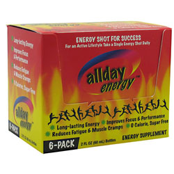 Allday Energy Shots 6ct Sky Nutrition