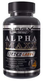 Alpha Maxx Black Label 90ct NRGX - IN STOCK