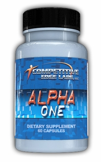 Alpha One 60ct Competative Edge Labs