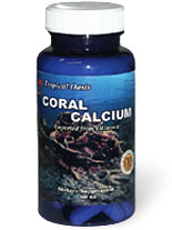 Coral Calcium Capsules 120ct Tropical Oasis
